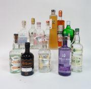 Box 67 - Gin Downpour Scottish Gin Vossenberg Gin Cantarelle Gin de Provence Hrasn Gin Barrel