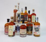 Box 62 - Mixed Spirits Phraya Gold Rum Pukka Gin Le Must Savanna Rum Ron Rumbero 7yr Cuban