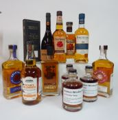 Box 60 - Whisky Four Roses Bourbon Whisky Hudson Shortstack Rye Whisky Hudson Do The Rye Thing