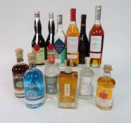 Box 7 - Mixed Spirits Vinjak 5 yr Brandy Domaine Tariquet Bas-Armagnac VSOP Corazon blanco