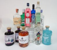 Box 30 - Gin The West Winds Sabre Gin Coqlicorne London Dry Gin Forty Spotted Citrus Gin Covent