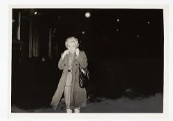 Sherman Cindy, untitled film still #54, dated 1980, black and white photograph, 23cm x 16cm.