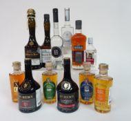 Box 15 - Mixed Spirits Chateau Du Breuil Calvados 20yrs Lacrime grape Brandy St-Remy XO Chateau