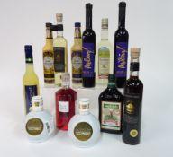 Box 10 - Mixed Spirits Eierlikor gold Advocaat Der Klare Liqueur Limoncino Jagdstolz