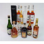Box 4 - Mixed Spirits Stara Sokolova plum Brandy Doppelkorn grain spirit Ognjena plum Brandy