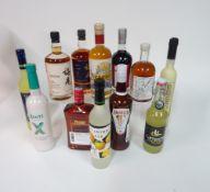 Box 46 - Mixed Liqueurs Limoncello Crema Limoncino Limoncino Meijian China Liqueur Meijan