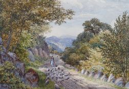 Ward Heys (British, 19th Century), In Borrowdale,