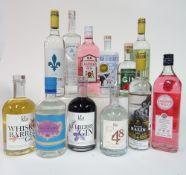 Box 73 - Gin #St Jean Gin Georgian Bay Gin Castelgy Pink Gin Black Pig Gin Schwarzwald Gin Gros