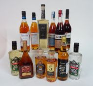 Box 18 - Mixed Spirits Cierto anejo Tequila Kvint XO Sibona Reserva Grappa Lustau Reserva Brandy