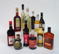 Box 12 - Mixed Liqueurs Der Starke Krauter Liqueur Limoncino Mozart dark chocolate Liqueur
