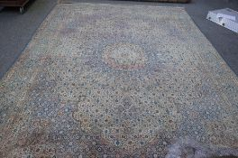 A Kerman carpet, Persian, the Mina Hani field with a multifaceted medallion,