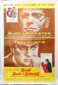 Film poster; The Sweet Smell of Success, dated 1957, number 57/375.