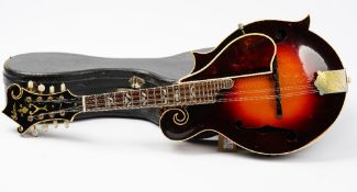 A Gibson F1 mandolin, serial no. 91331, with original Kalamazoo paper label, length approx.
