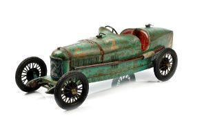 Alfa Romeo P2 tinplate toy car by C.I.J.