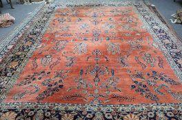 A Sarough carpet, Persian,