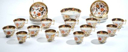 A Spode London shape part tea and coffee service, circa 1815, painted with Japan pattern `2693',