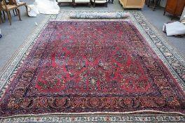 A Sarough carpet,