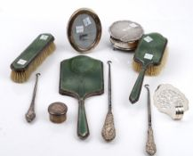 Silver and silver mounted wares,