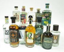 Box 8 - Gin Copeland Navy Strength Mil Gin Jones Signature Nadine V Atlantic Coal NIF Rare Dry