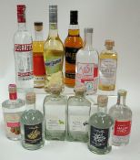 Box 54 - Mixed Spirits Avosh Australian Honey Vodka Malinovice Raspberry Brandy Aeblebraendevin