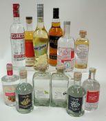 Box 54 - Mixed Spirits Avosh Australian Honey Vodka Malinovice Raspberry Brandy Aeblebraendevin