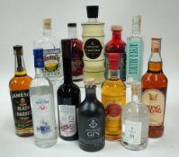 Box 34 - Mixed Spirits Jameson Black Label Whiskey Hong Thong Thai Spirit Opland Aquavit Linden