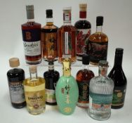 Box 57 - Mixed Spirits Brookie's Byron Slow Gin Meijian Smoky Liqueur Method and Madness Irish