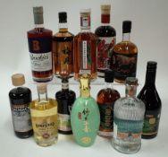 Box 57 - Mixed Spirits Brookie's Byron Slow Gin Meijian Smoky Liqueur Method and Madness Irish