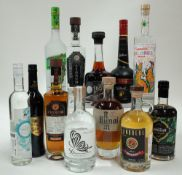 Box 24 - Mixed Spirits D'Argo Mastic Greek Liqueur Lemos Figueierdo Berry Fruit Liqueur Casa