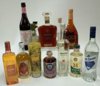 Box 30 - Mixed Spirits Marie Brizard Anisette Liqueur Meanie Absinthe Lustau Red Vermouth