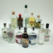Box 4 - Gin Pear Drop Gin Liqueur Kalki Moon Gin Cult & Glory No1 Gin Brogan's Way Hearts Afire
