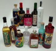Box 49 - Mixed Spirits Reverend Hubert Winter Gin Liqueur Noveltea Alcoholic Tea Adriatico