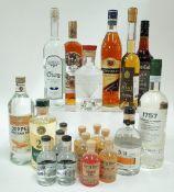 Box 20 - Mixed Spirits Rubis Blanc Spirit Eckerts Wacholder Weizenstolz