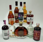 Box 56 - Mixed Spirits (10 Bottles) Nocturne Noir Coffee Spirit Winestillery Tuscan Vermouth