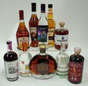Box 56 - Mixed Spirits (10 Bottles) Nocturne Noir Coffee Spirit Winestillery Tuscan Vermouth