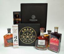 Box 9 - Mixed Spirits Picofino Artisan Gin Fusion Vermouth (3 Bottle Presentation Case) Bornholm