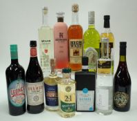 Box 38 - Mixed Spirits Leonce Malbec Vermouth Vermat Lustau Red Vermouth Asterley Bros.