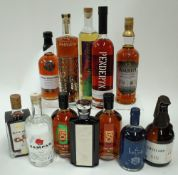 Box 55 - Mixed Spirits Black Bean Rum Sampan Rum Seven Seals Whisky Copper Republic Bourbon