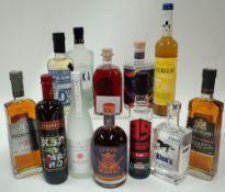 Box 27 - Mixed Spirits Brancoveanu VSOP Brandy Brancoveanu VS Brandy K 32 Amaro Liqueur Keys