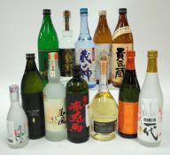 Box 21 - Shochu Yamamoto Kuranokami Shochu Hombo Tamashi No Imo Shochu Komasa Jyozo The Smoke
