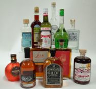 Box 53 - Mixed Spirits Ruby Irish Gin Minttu Liqueur Der Milde Liqueur Aalborg Akvavit