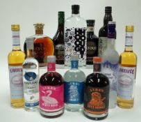 Box 37 - Mixed Spirits Hooghoudt Zero Zero 24 non alcohol Spirit De Kuyper Royal Dutch Cacao