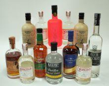 Box 15 - Mixed Spirits Cotswolds Single Malt Whisky Canadian Club Rye Chinese Single Malt 68%