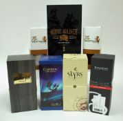 Box 13 - Whisky (7 Bottles in Presentation Cases) Horse Soldier 12YO Bourbon Mister Sam Tribute