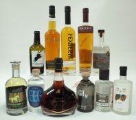 Box 17 - Mixed Spirits Penderyn Single Malt Whisky Penderyn Sherrywood Single Malt Whisky Macardo