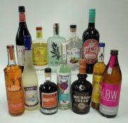 Box 39 - Mixed Spirits JJ Whitley Toffee Vodka Liqueur Wakashio Glow 2020 Shochu Everleaf