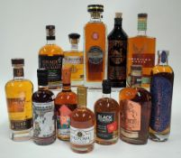 Box 25 - Whisky Emil Single Malt Forest 8YO Blended Halewood American Eagle 4YO Bourbon Teerenpeli