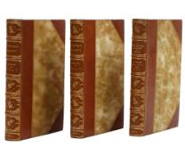 BINDINGS - Laurence STERNE (1713-68). The Life and Opinions of Tristram Shandy. London: J. C.