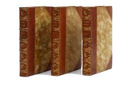 BINDINGS - Daniel DEFOE (c. 1660-1731). The Life and Adventures of Robinson Crusoe. London: J. P.