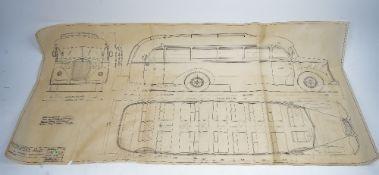 CAPRONI VIZZOLA - An extensive archive relating to Italian transport company Caproni,